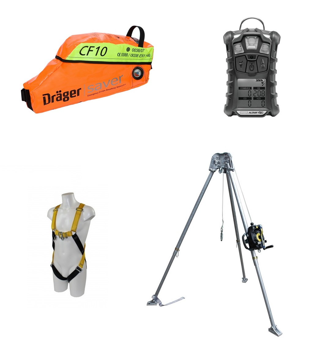 Survey Confined Space Equipment Detection Equipment Geomax